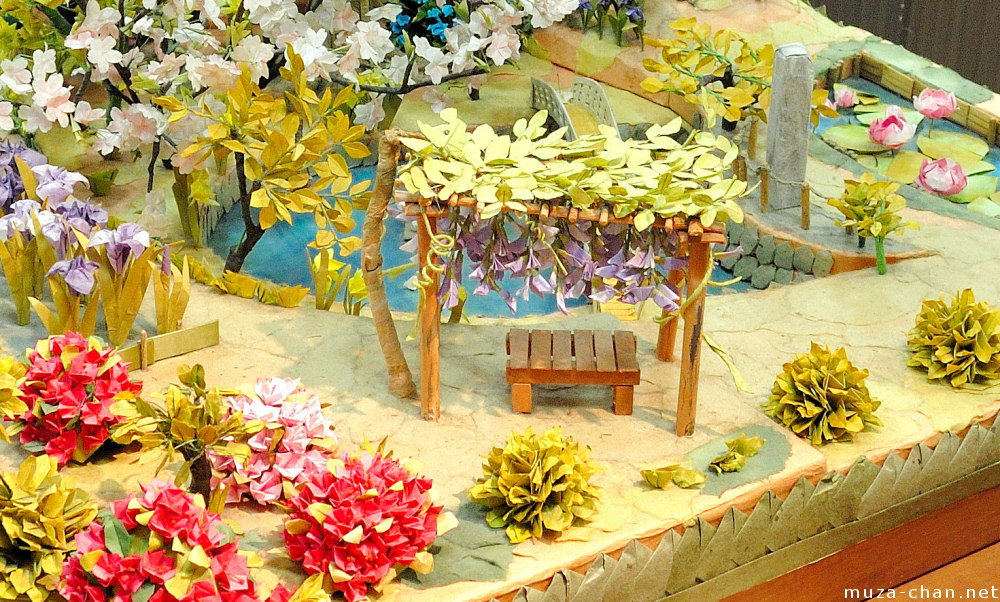 how to make a japanese garden diorama