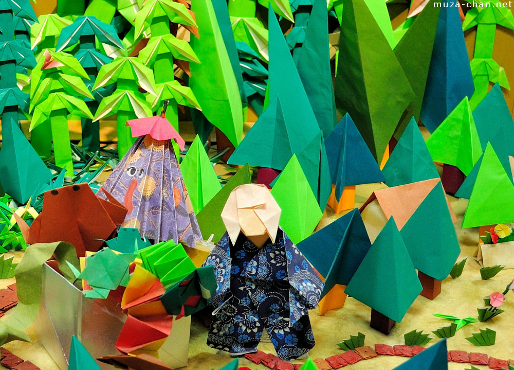 Origami diorama masterpieces, a great place to see and a ... - photo#38