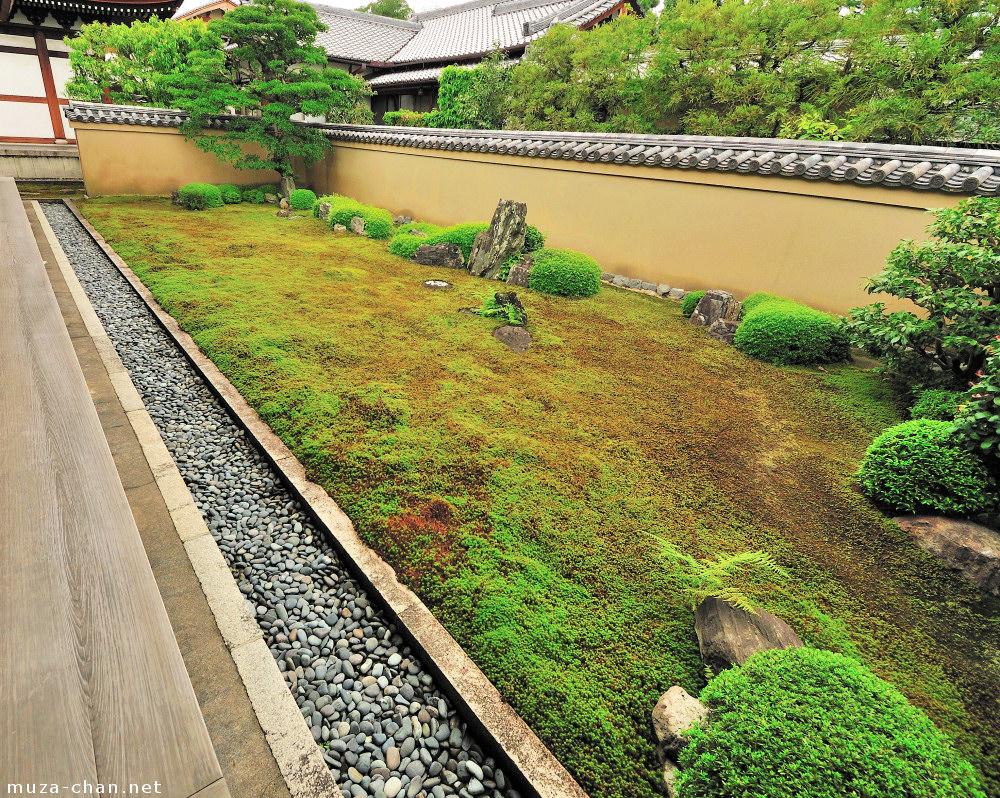 Moss Covered Japanese Zen Garden Ryogin Tei