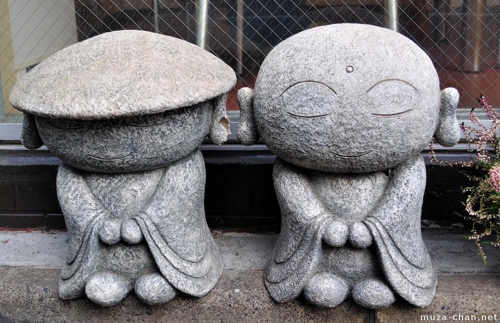 Etonnant Jizo Statues