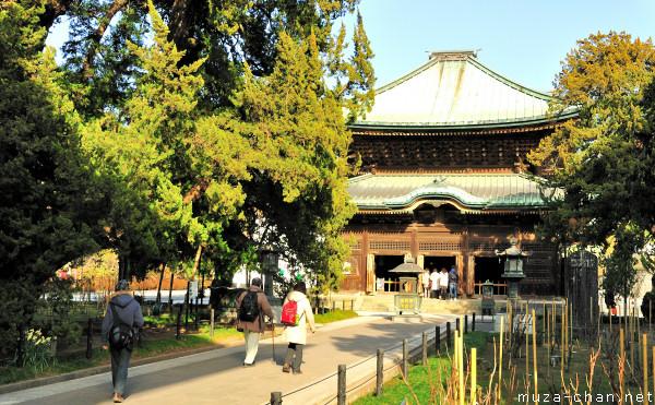 Buddha Hall, Kencho-ji Temple, Kamakura