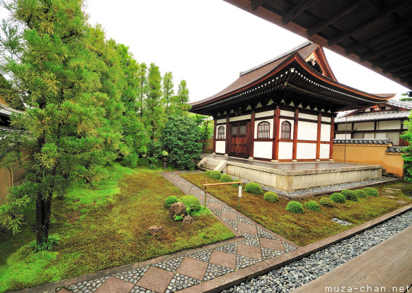 Kaiso-do, the hall of the founder, Ryogen-in, Kyoto
