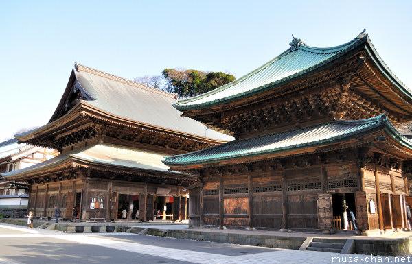 Hatto (Dharma Hall), Kencho-ji Temple, Kamakura