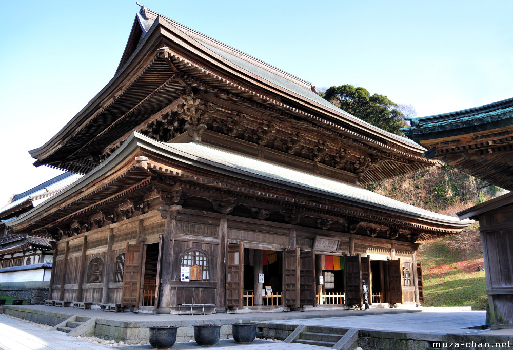 Japanese superlatives, Kencho-ji Dharma Hall