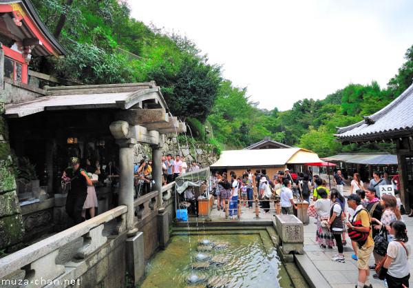 Kiyomizu-dera Temple, Otowa waterfall, Kyoto