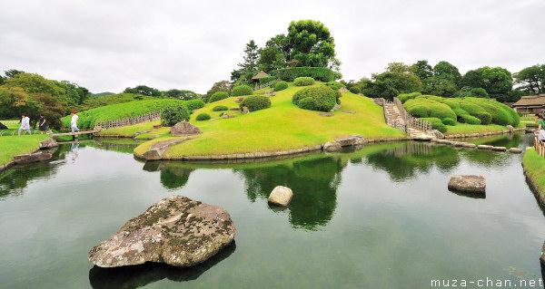 Korakuen Garden, Yuishinzan Hill, Okayama