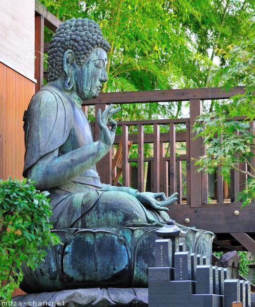 Kuhon-ji Daibutsu, Asakusa, Tokyo