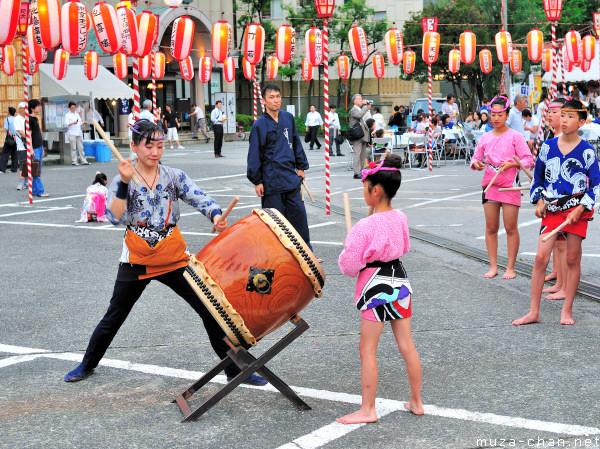 Little Taiko Drummers, Tsukiji Hongwan-ji Temple, Tokyo