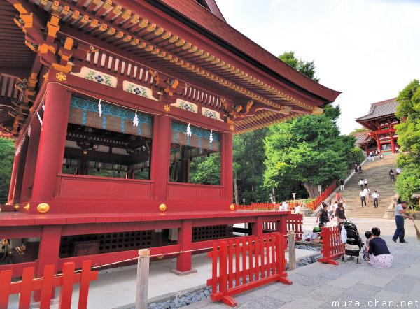 Maiden Hall, Tsurugaoka Hachimangu Shrine, Kamakura