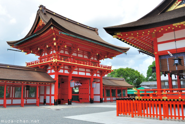 Main Gate, Main Shrine, Fushimi Inari Taisha, Kyoto