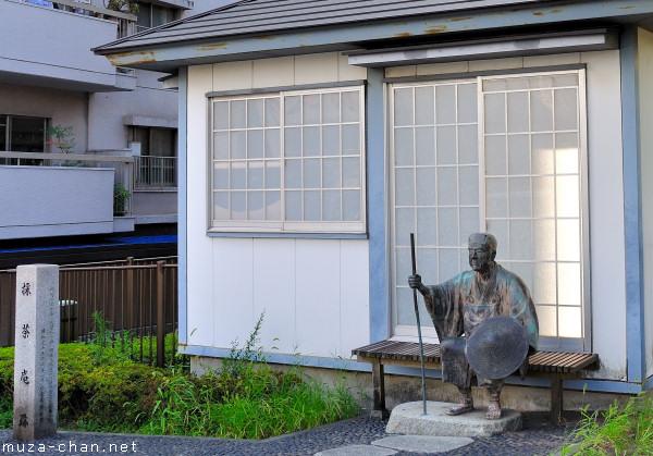 Matsuo Basho Statue, Fukagawa, Tokyo