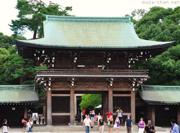 Minami-Shinmon, Meiji Jingu, Shibuya, Tokyo
