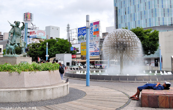 Momotaro Statue, Okayama