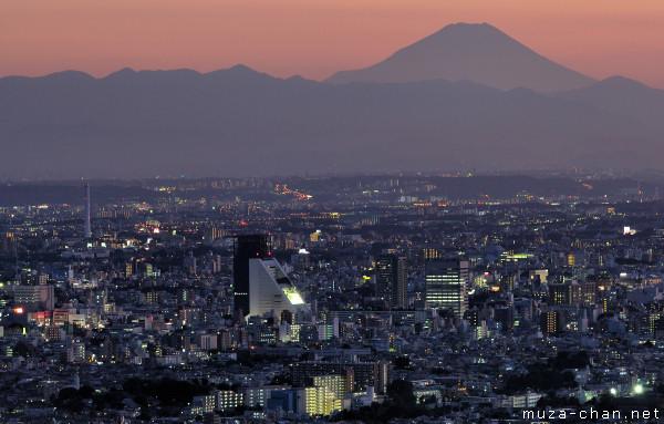 Mount Fuji, View from Sunshine 60, Ikebukuro, Tokyo