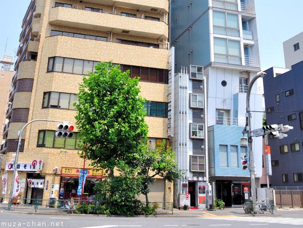 Narrow Buildings, Ueno Matsugaya, Tokyo