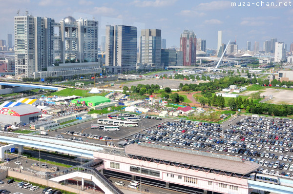 Aomi Parking, the Odaiba Tokyo Drift venue
