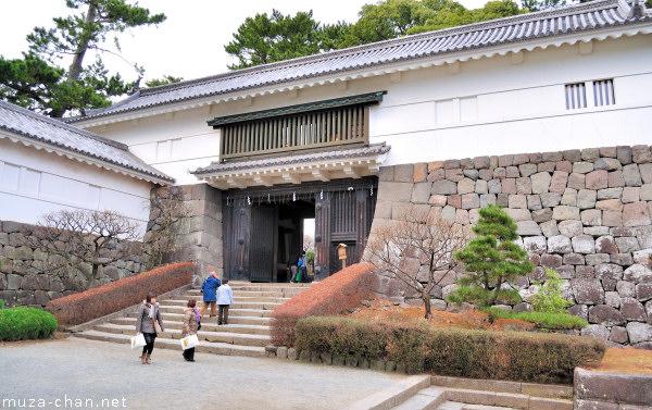 Odawara Castle, Tokiwagi Gate, Odawara