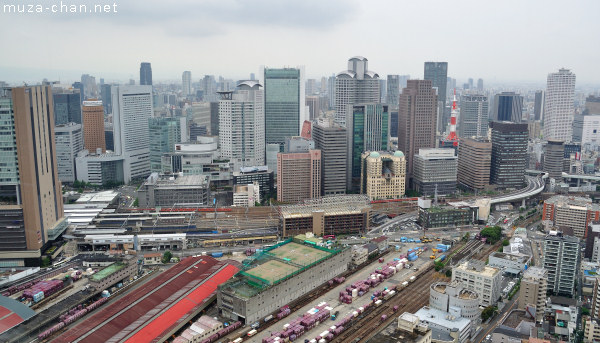 View from Umeda Sky Building Observatory, Osaka