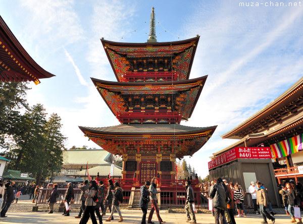 Three-storied Pagoda, Naritasan Temple, Narita