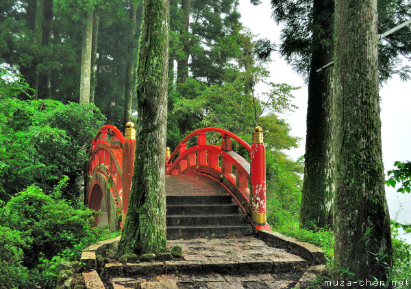 Red Bridge, Hakone Shrine, Hakone