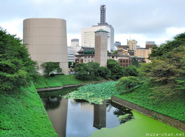 Ushigafuchi moat, Kitanomaru Park, Chiyoda, Tokyo