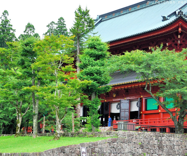 Rinno-ji Temple, Sanbutsudo Hall, Nikko
