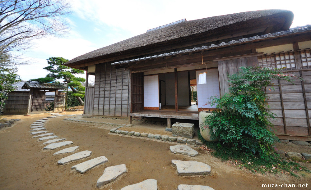 Old samurai house for Classic japanese house