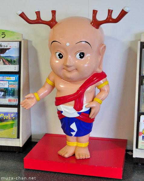 Sento-kun, Nara mascot