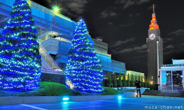 Tokyo Christmas Illuminations, Shinjuku Southern Terrace