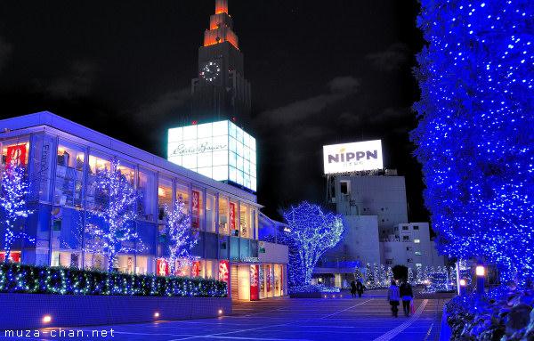 Shinjuku Southern Lights, Shinjuku, Tokyo