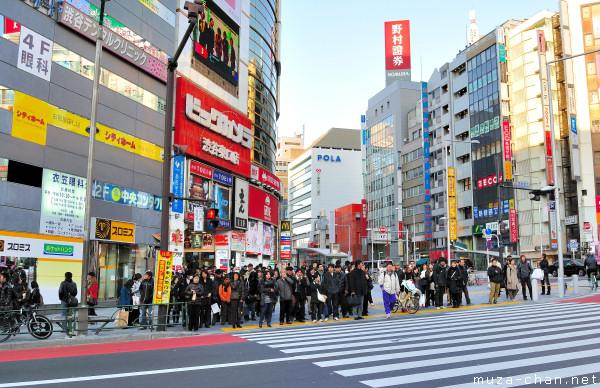 Shibuya street, Tokyo