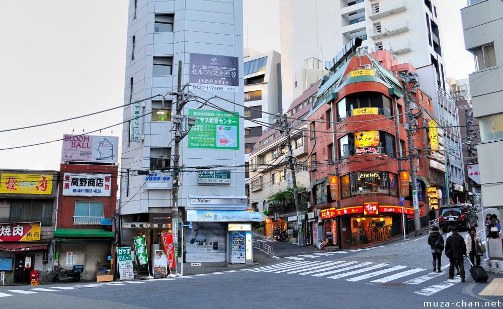 sukiya restaurant  shibuya