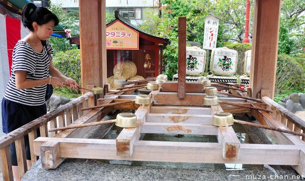 Suiten-gu Shrine, Nihombashi, Tokyo
