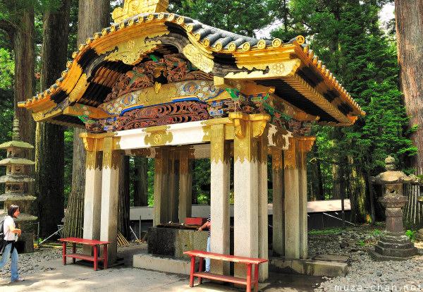 Temizuya, Toshougu Shrine, Nikko