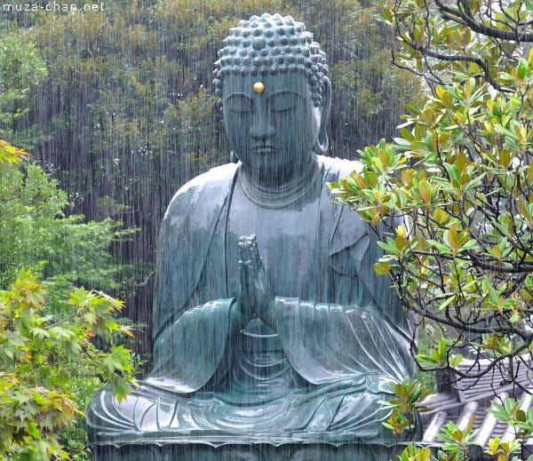 Tenno-ji Daibutsu, Gokokusan Tenno-ji Temple, Yanaka, Tokyo
