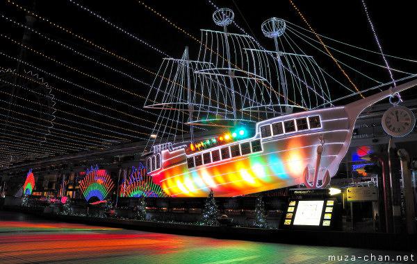 Tokyo Christmas Illuminations, Tokyo Dome City, Chrystal Avenue