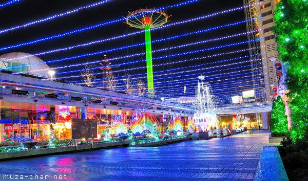 Tokyo Christmas Illuminations, Tokyo Dome City, Eco Light Factory