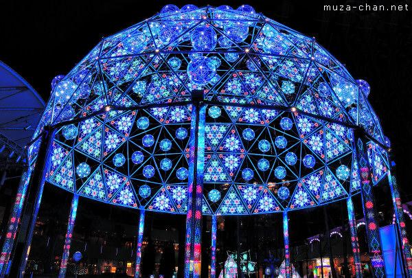 Tokyo Christmas Illuminations, Tokyo Dome City, Galaxy Dome