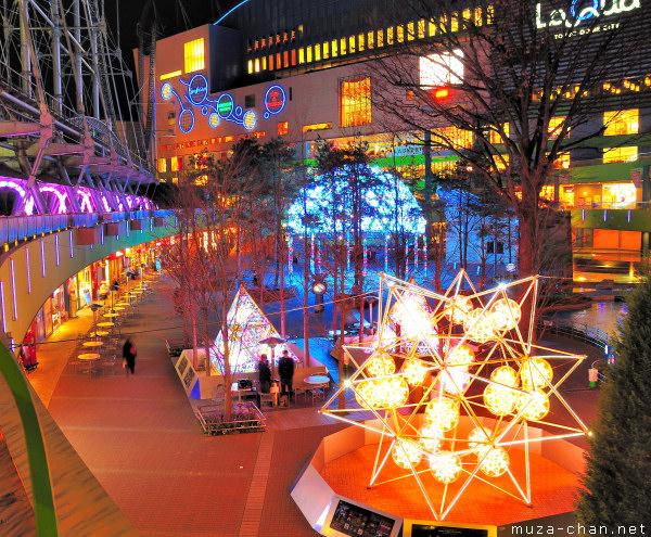 Tokyo Christmas Illuminations, Tokyo Dome City, LaQua