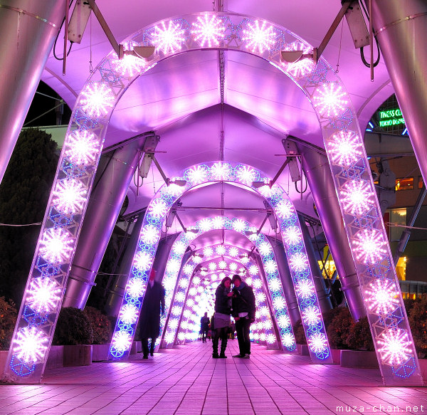 Tokyo Christmas Illuminations, Tokyo Dome City, Milky Way