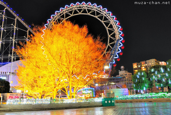 Tokyo Christmas Illuminations, Tokyo Dome City