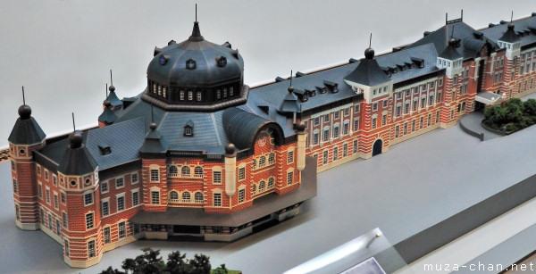 Tokyo Station Diorama, Railway Museum, Saitama
