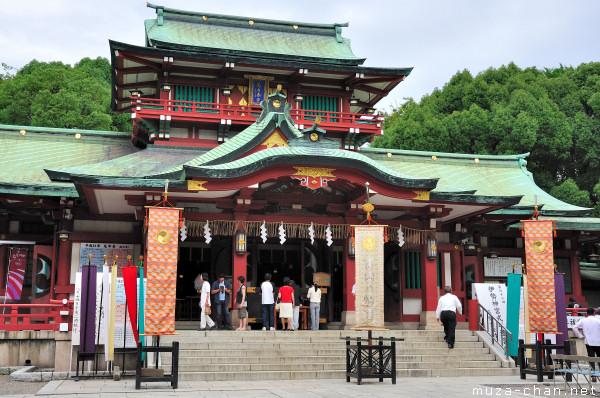 Tomioka Hachimangu Shrine, Fukagawa, Tokyo