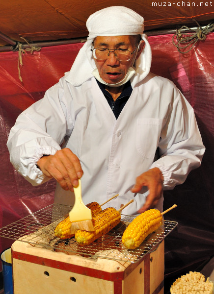 Yaki Tomorokoshi Yatai seller