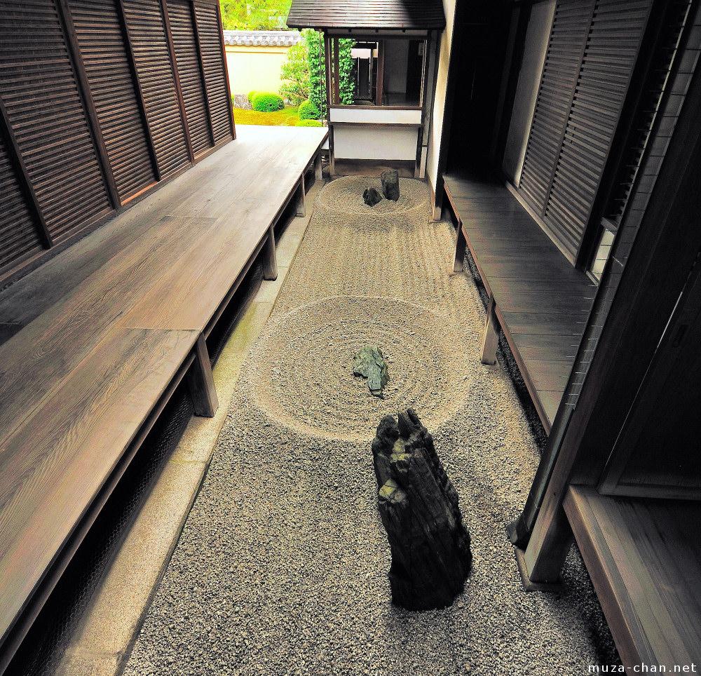 Totekiko, The Smallest Japanese Zen Rock Garden, Ryogen In Temple, ...