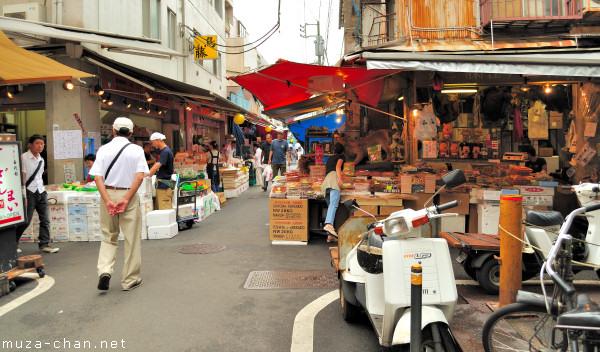 Street Scene, Tsukiji, Tokyo