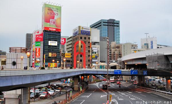 Ueno Elevated Pedestrian Walkway, Tokyo