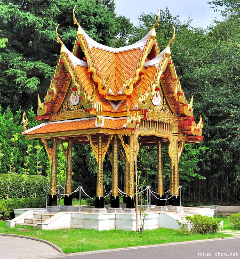 Thai architecture in tokyo sala thai for Thailand architecture
