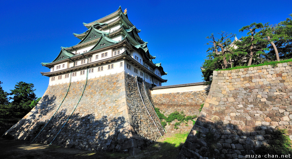 Nagoya Castle, the Wall of Swords
