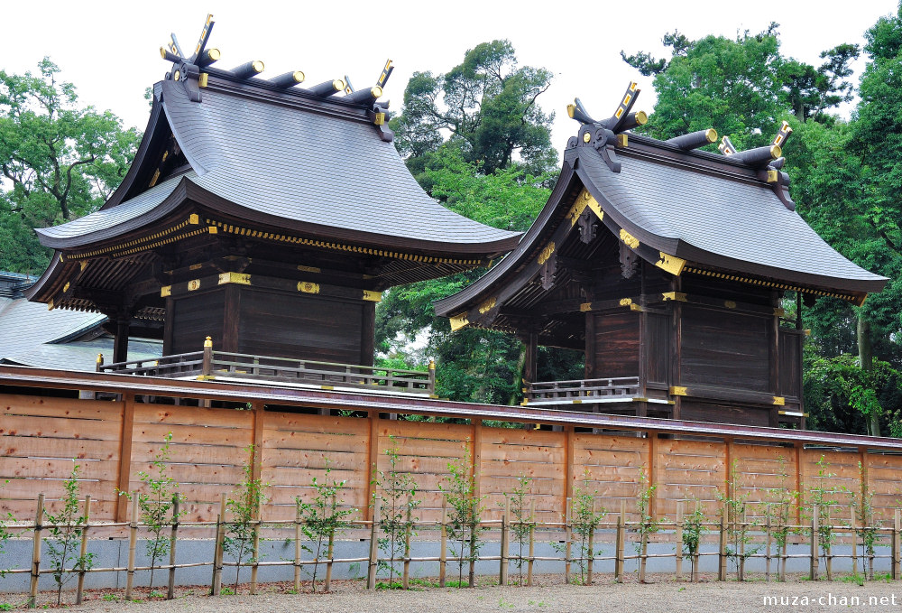Japanese Traditional Architecture Chigi And Katsuogi